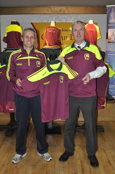 Martin Geary: Southern Gaels Club Sectary (Left) and Pat O Neill : Zenith Adhesive Components M.D.