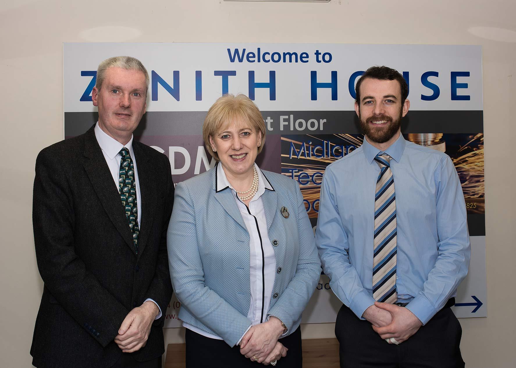 ZAC is visited by Minister for Enterprise and Employment